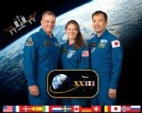 International Space Station Expedition 23 Crew Portrait #5